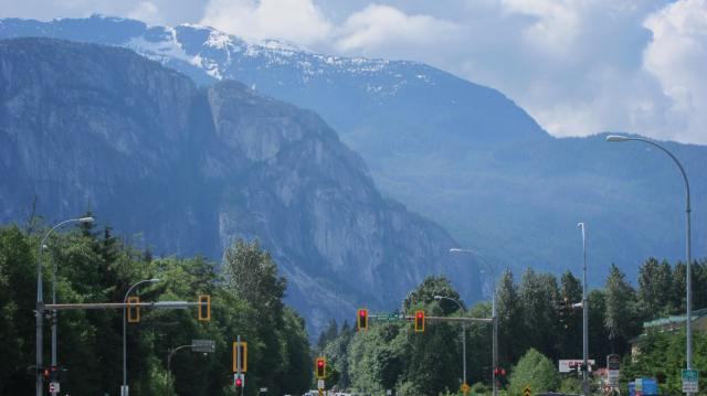 Downtown Squamish