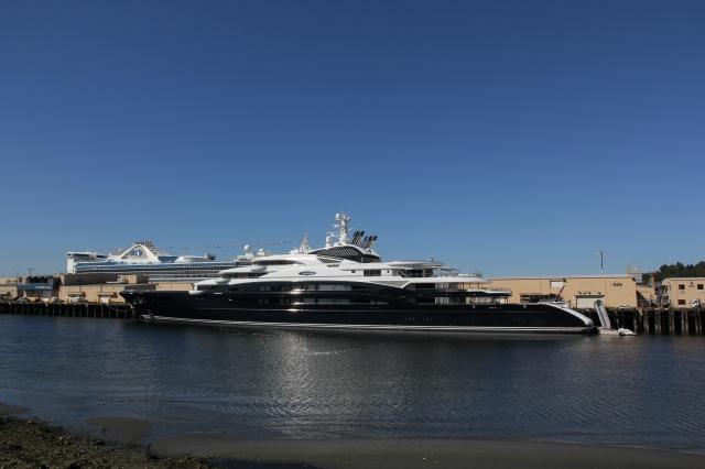 Serene docked