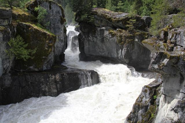 Nairn Falls top