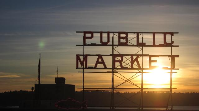 Market Sunset